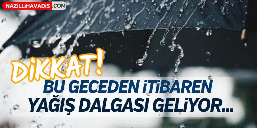 Yağış Uyarısı!
