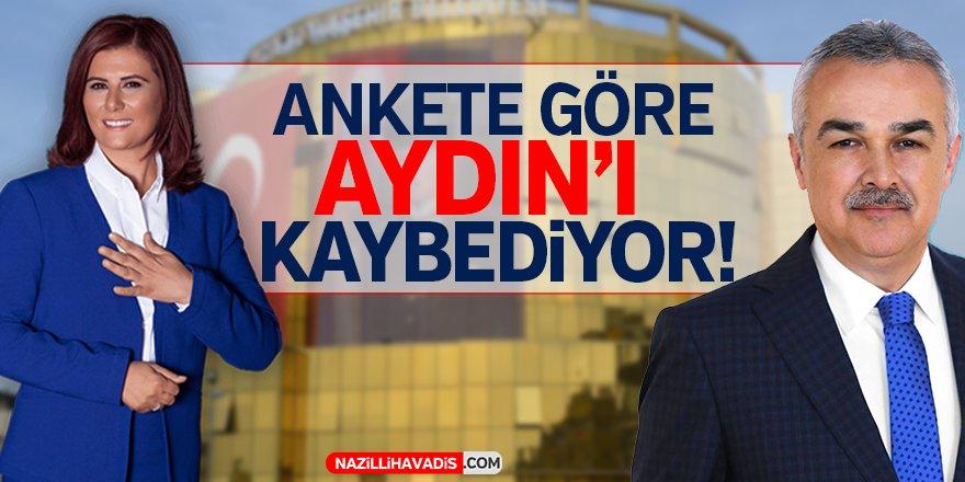 Ankete göre Aydın'ı kaybediyor!