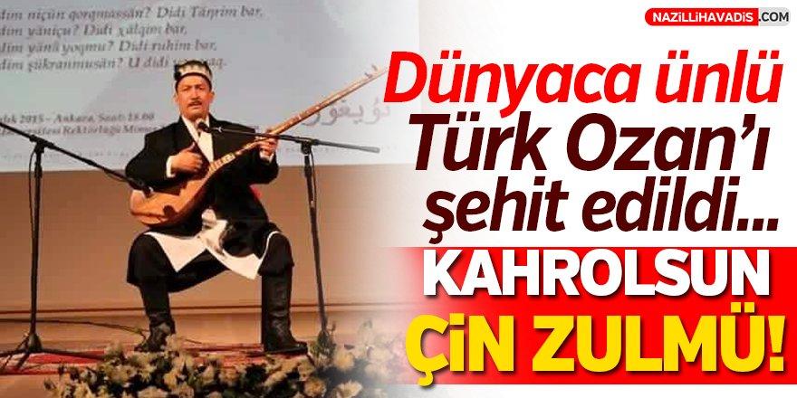 Dünyaca ünlü Türk Ozan'ı şehit edildi!