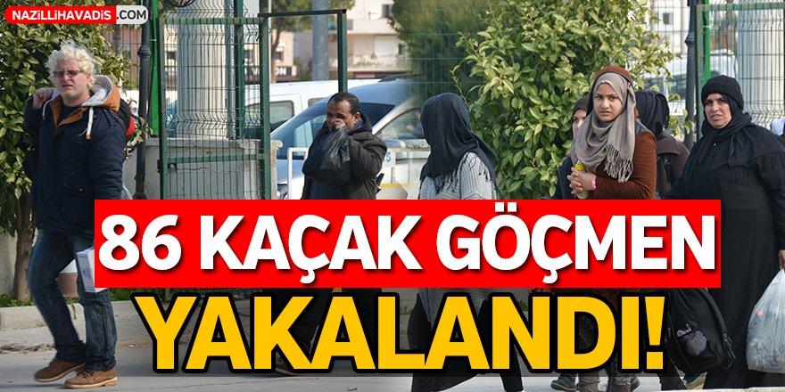 Kaçak Göçmenler Yakalandı!