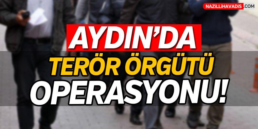 Aydın'da terör örgütü PKK/KCK operasyonu