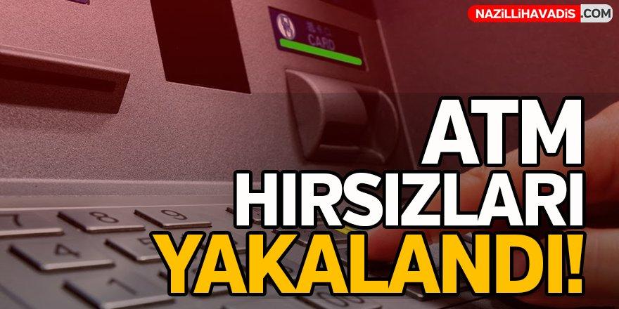 ATM Hırsızları Yakalandı!