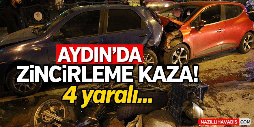 Aydın'da Zincirleme Kaza!