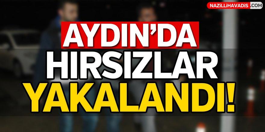 Aydın'da Hırsızlar Yakalandı!