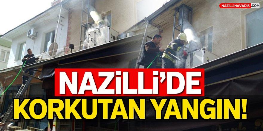 Nazilli'de Korkutan Yangın!
