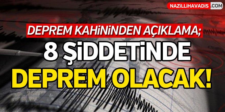 Deprem Kahininden Açıklama!