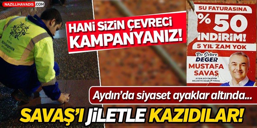 Aydın'da Siyaset Ayaklar Altında!