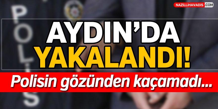 Aydın'da Yakalandı...