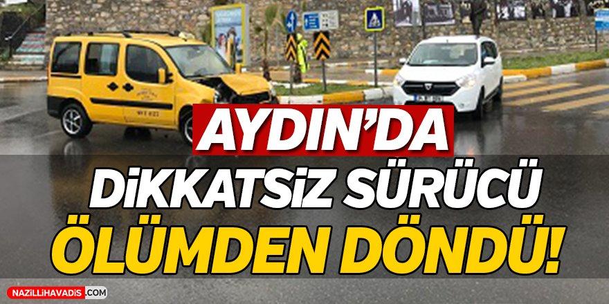 Aydın'da Kaza; 2 yaralı...