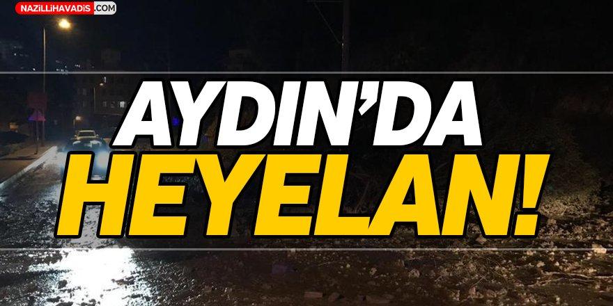 Aydın'da Heyelan!