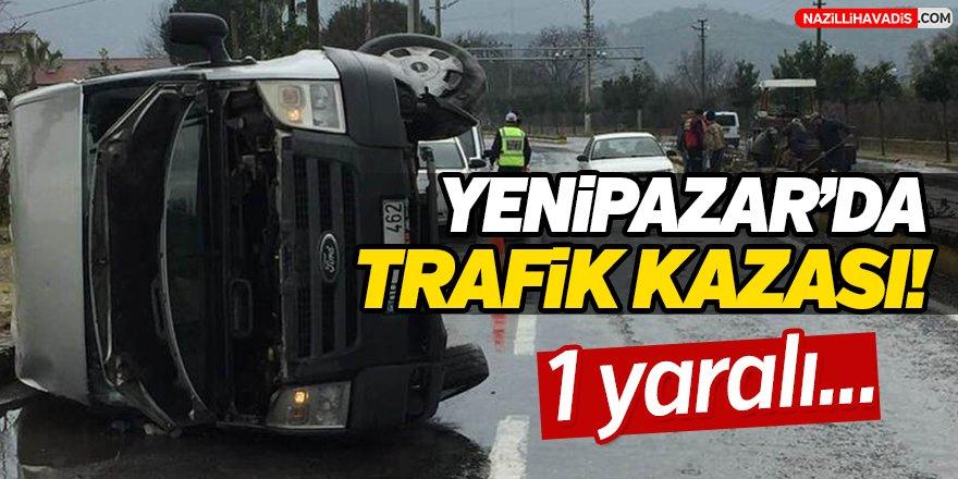 Yenipazar'da Trafik Kazası!