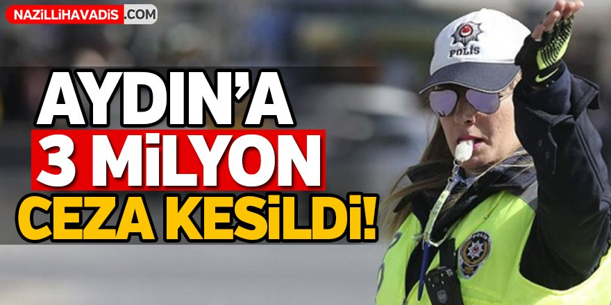 Aydın'a 3 Milyon Ceza Kesildi!