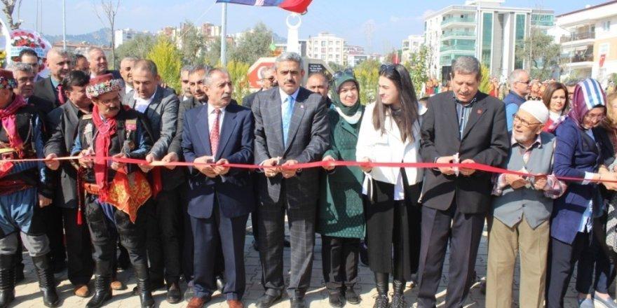 Nazilli'de 15 Temmuz Şehitler Parkı Açıldı!