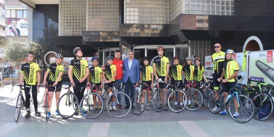 Nazilli'de Pedallar Çanakkale Şehitleri İçin Çevrildi!