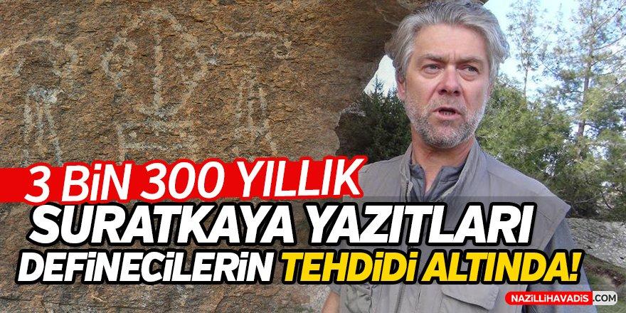 Aydın'da Suratkaya Yazıtları Definecilerin Tehdidi Altında!