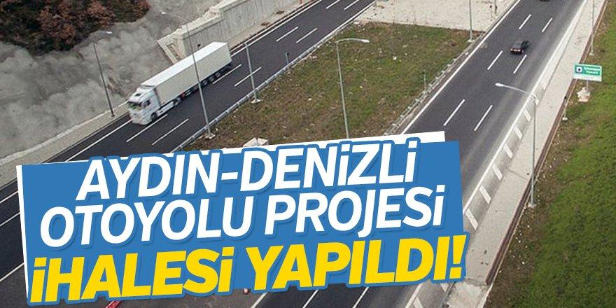 Aydın-Denizli Otoyolu Projesi  İhalesi Yapıldı!