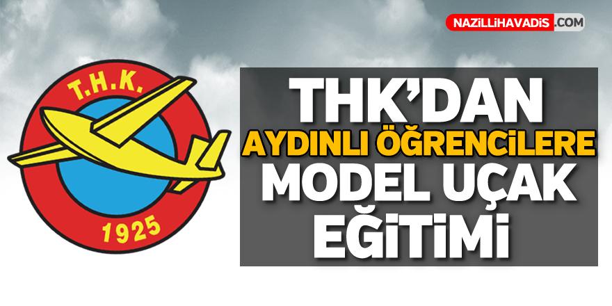 Aydın'da öğrencilere model uçak eğitimi