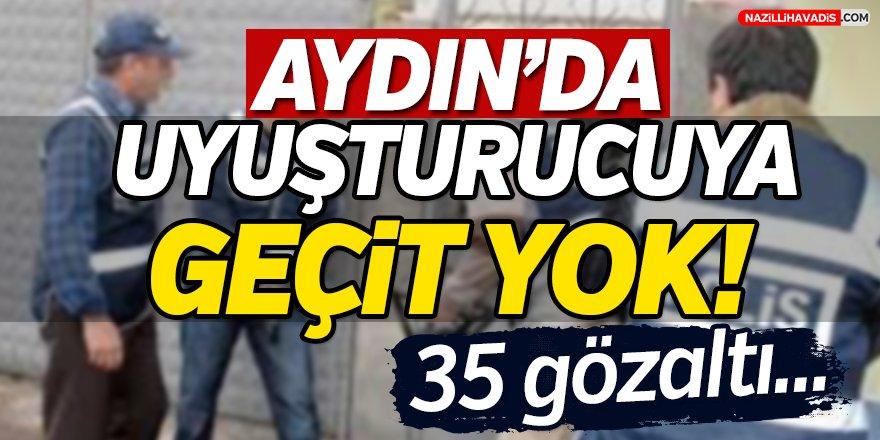 Aydın'da Uyuşturucuya Geçit Yok!