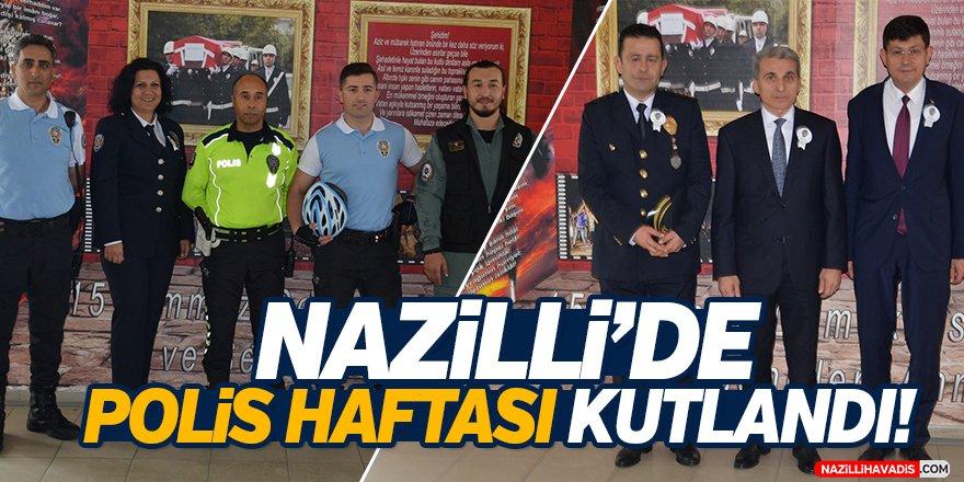 Nazilli'de Polis Haftası Kutlandı!