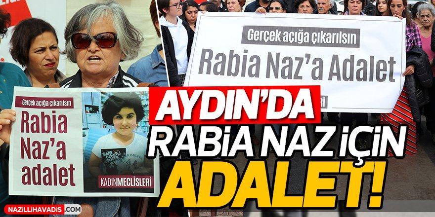 Aydın'da Rabia Naz İçin Adalet!