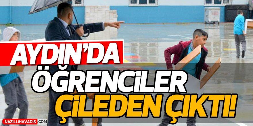 Aydın'da Öğrenciler Çileden Çıktı!