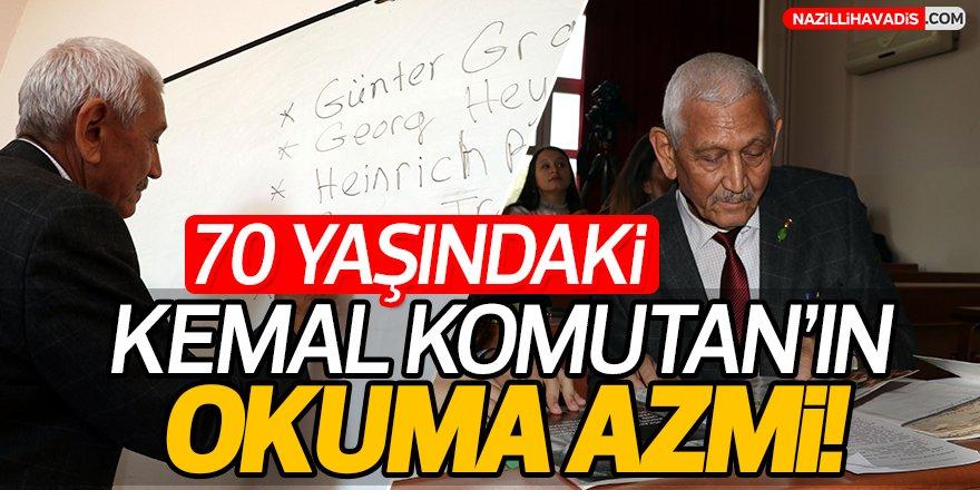 Kemal Komutan'ın Okuma Azmi!
