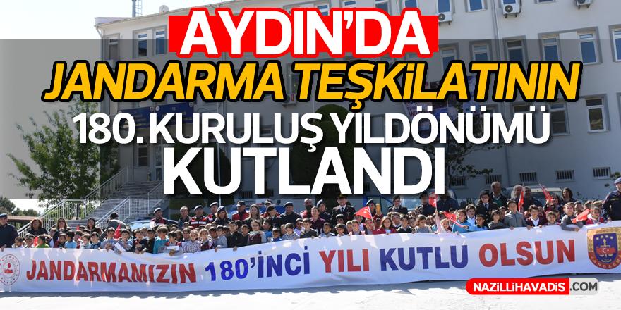 Aydın'da Jandarma Teşkilatının 180. Kuruluş Yıldönümü kutlandı!