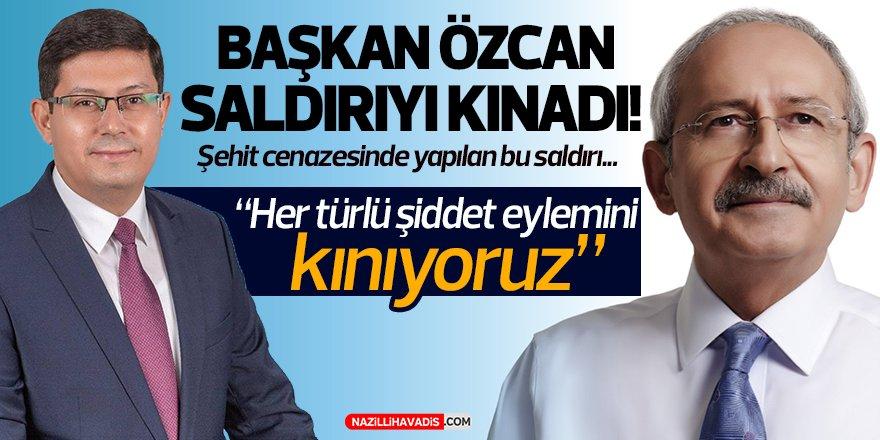 Başkan Özcan Saldırıyı Kınadı!