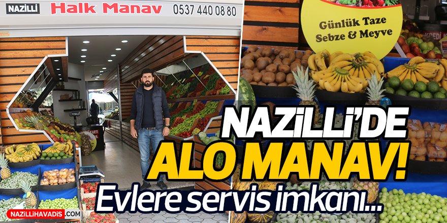 Nazilli'de Alo Manav!