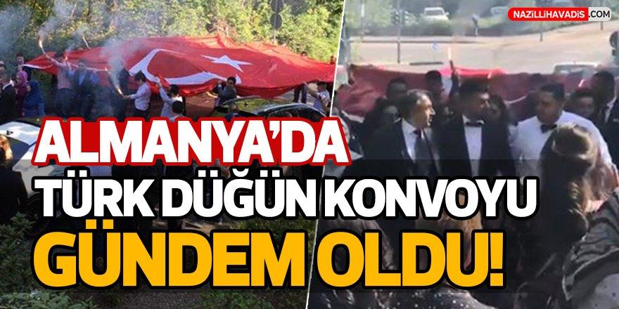 Türk düğün konvoyu, Almanya'da gündem oldu
