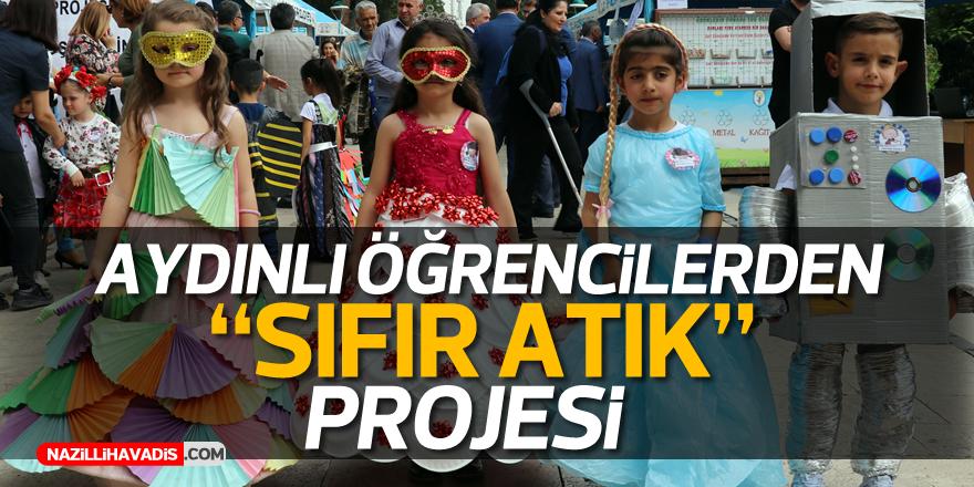 """Aydın'da """"SIFIR ATIK"""" projesi!"""