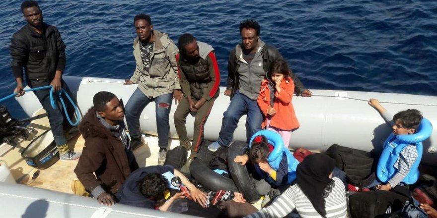 Yakalanan Hamile  Göçmen Hastaneye Kaldırıldı!
