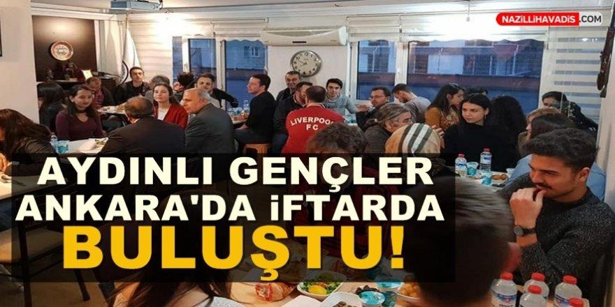 Aydınlı Gençler Ankara'da İftarda Buluştu!
