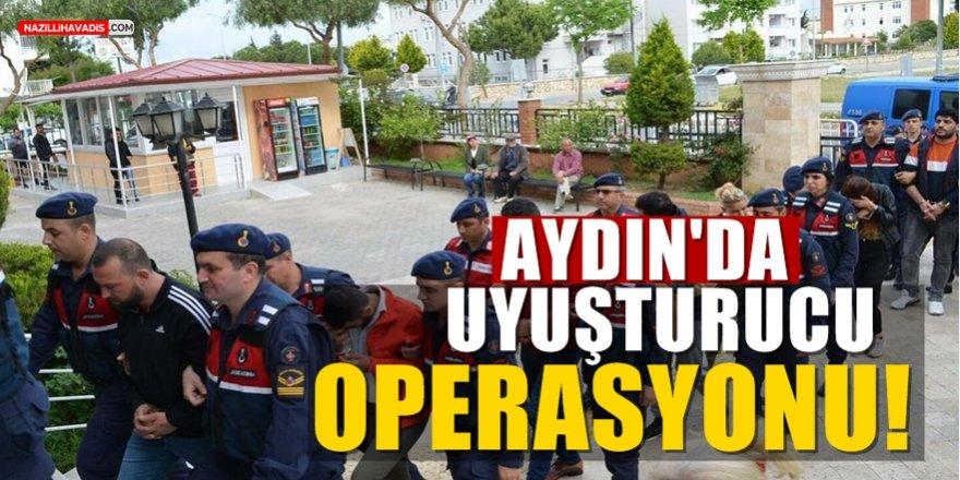 Aydın merkezli uyuşturucu operasyonu!