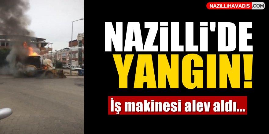Nazilli'de Yangın Paniği!