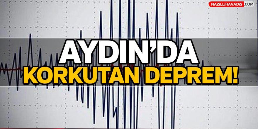 Aydın'da Korkutan Deprem!