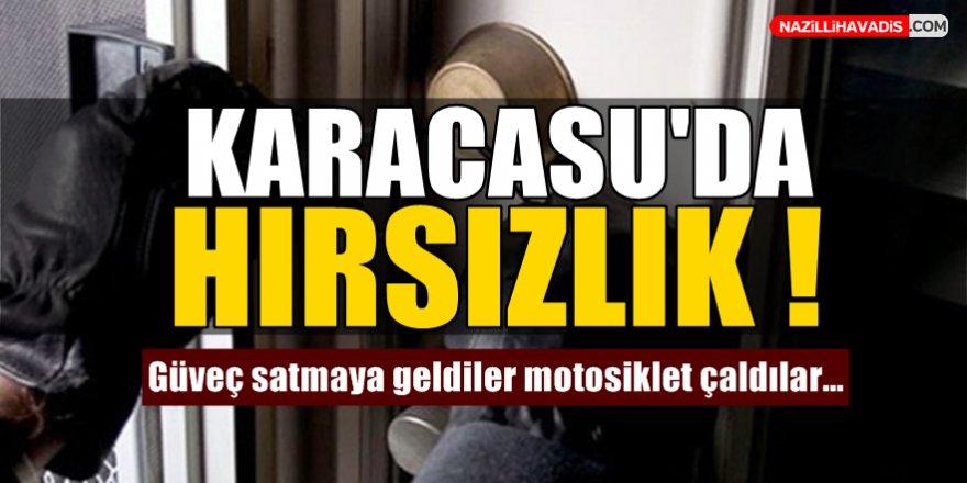 Karacasu'da Hırsızlık!