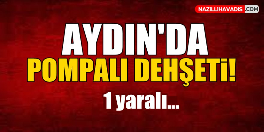 Aydın'da Pompalı Dehşeti!