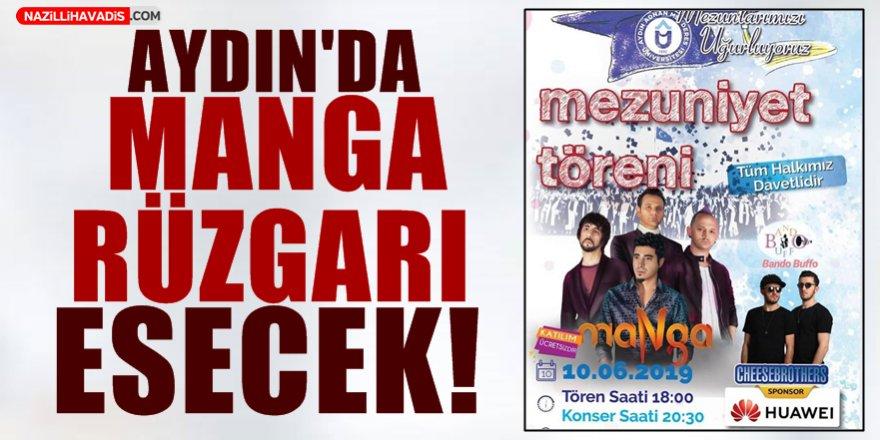 Aydın'da Manga Rüzgarı Esecek!