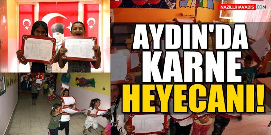 Aydın'da Karne Heyecanı!