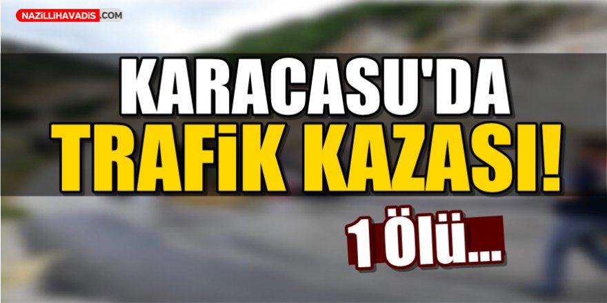 Karacasu'da trafik kazası!