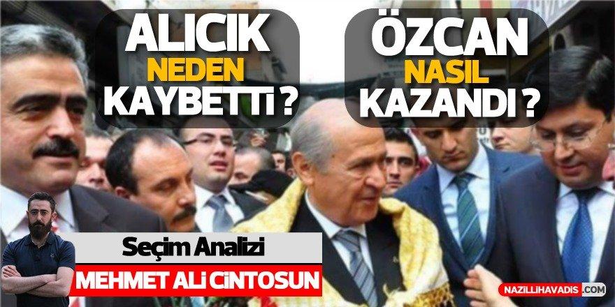 Alıcık ve Özcan'ın seçim analizi!