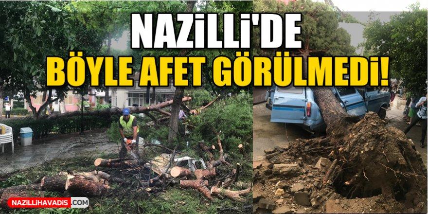 Nazilli'de Böyle Afet Görülmedi!
