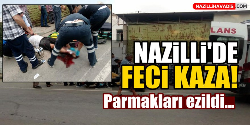 Nazilli'de Feci Kaza!