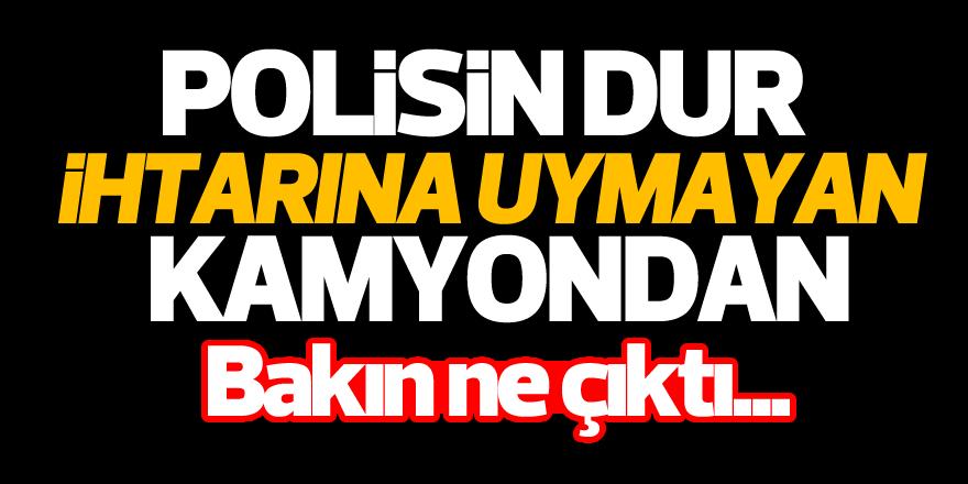 Aydın'da polisler geçit vermedi!