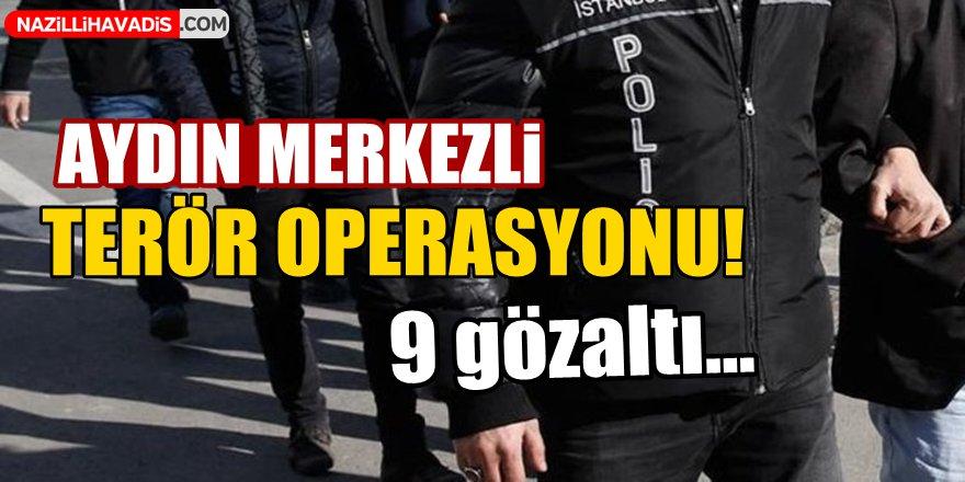 Aydın Merkezli FETÖ Operasyonu!