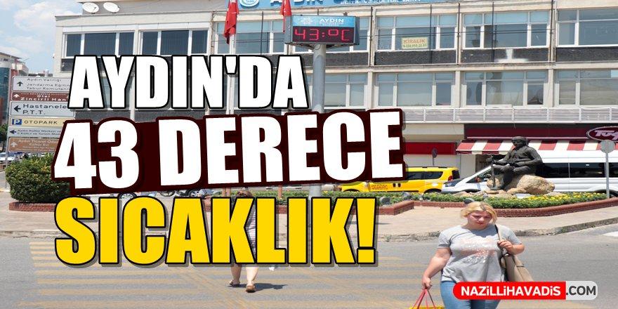 Aydın'da 43 Derece Sıcaklık!