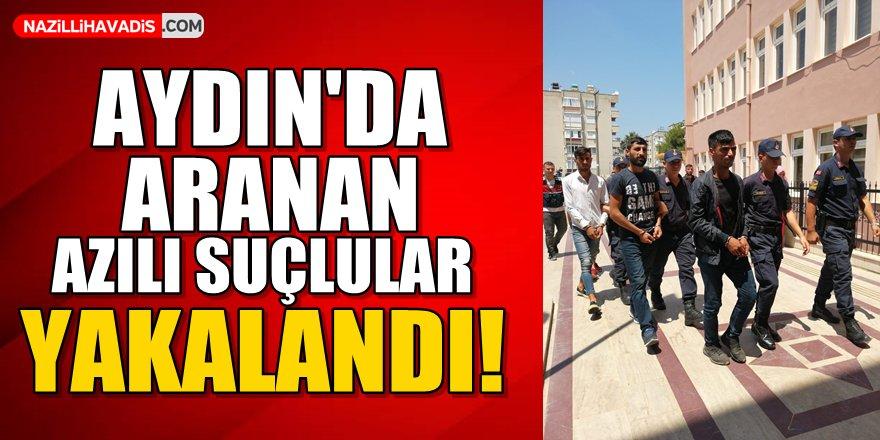 Aydın'da azılı suçlular yakalandı!