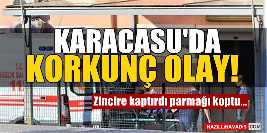 Karacasu'da Korkunç Olay!