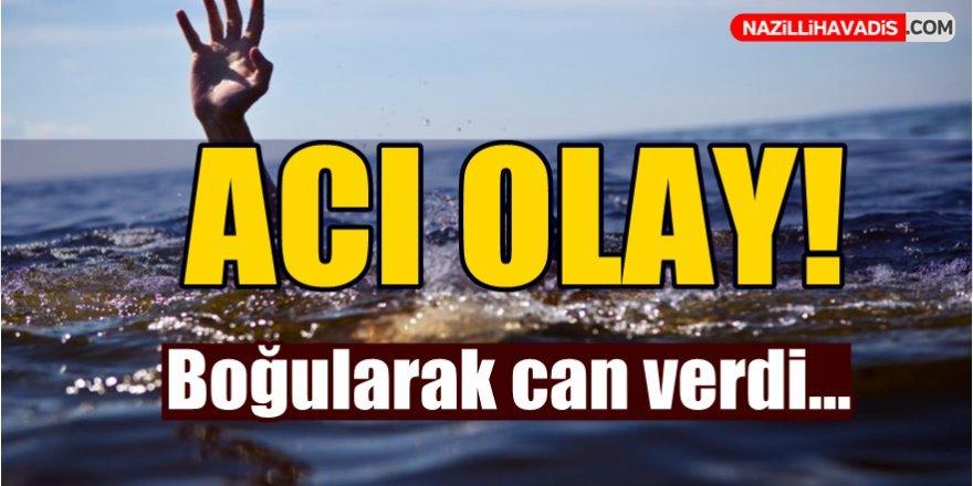 Aydın'da denize giren kişi boğuldu!